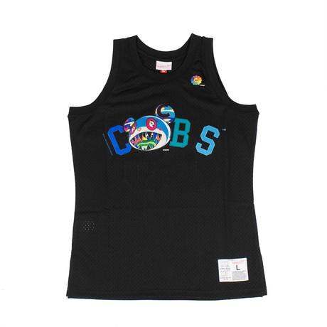 Takashi Murakami x Complexcon Cubs Basketball Jersey // Black (S)