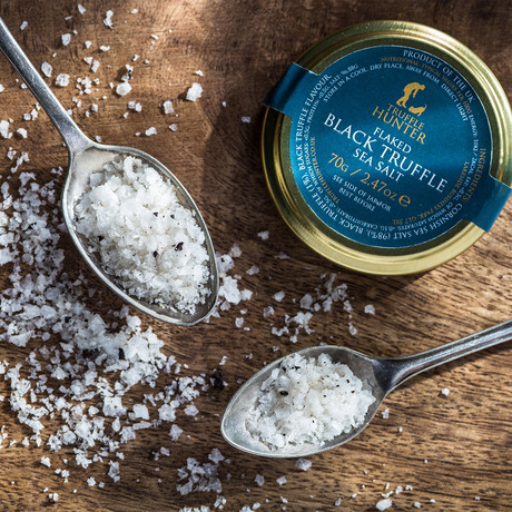 Flaked Black Truffle Sea Salt // 140g