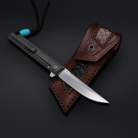 The Officer #1 M390 Folding Knife(Gray Titanium)