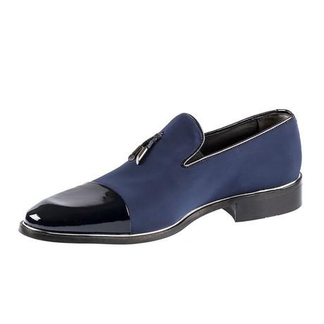Nazim Classic Shoes // Navy Blue (Euro: 39)