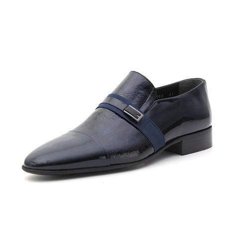 Leonardo Classic Shoes // Navy Blue (Euro: 39)