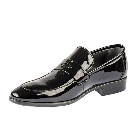 Francesco Classic Shoes // Black Patent (Euro: 39)