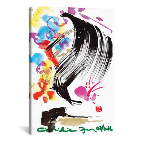 "Butterfly Blush // Odilia Fu (12""W x 18""H x 0.75""D)"