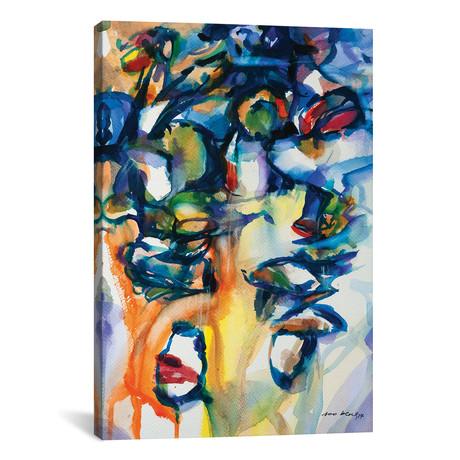 "Boats abstract I // Soo Beng Lim (12""W x 18""H x 0.75""D)"