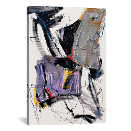 "Abstract View // Soo Beng Lim (12""W x 18""H x 0.75""D)"
