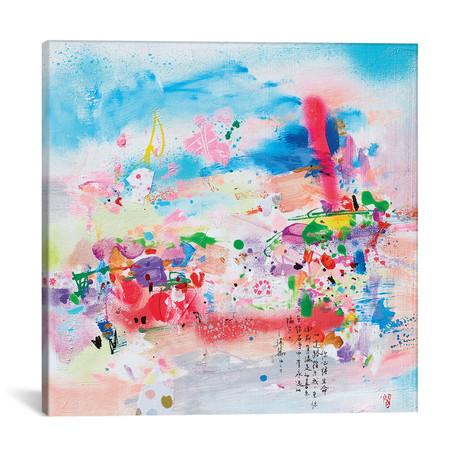"Summer time I // Xiaoyang Galas (12""W x 12""H x 0.75""D)"