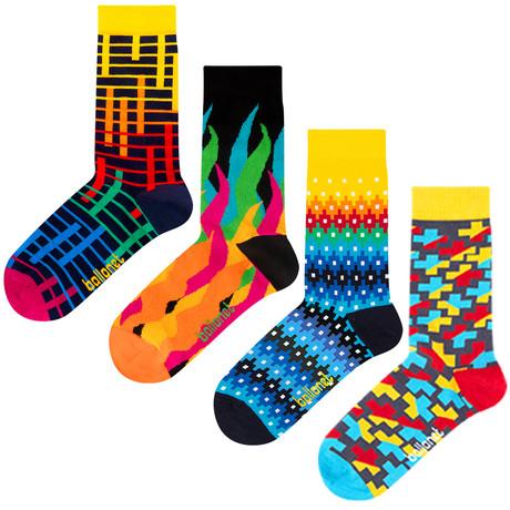 Darnell Socks // 4 Pack (US: 6-9)