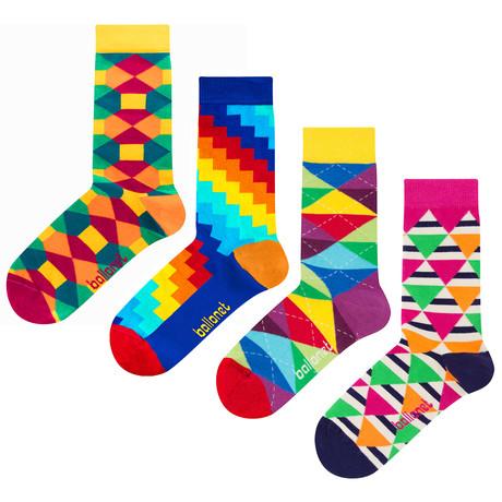 Hosea Socks // 4 Pack (US: 6-9)