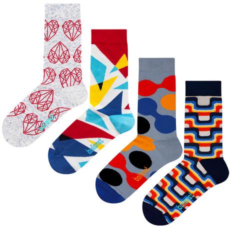 Royce Socks // 4 Pack (US: 6-9)