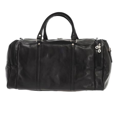 Colombo Leather Duffle Bag (Black)