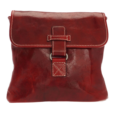 Paolo Leather Travel Bag (Natural)