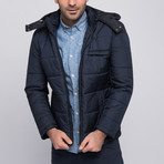 Dewberry // Jones Coat // Dark Blue (XX-Large)