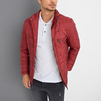 Julian Coat // Burgundy (XX-Large)
