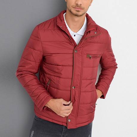 Julian Coat // Burgundy (Small)