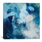 """Blue Flo // Randy Hibberd (12""""W x 12""""H x 0.75""""D)"""