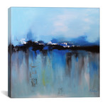 "Blue Utopia // Radiana Christova (12""W x 12""H x 0.75""D)"