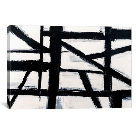 "Building Blocks I // Nikki Chauhan (26""W x 18""H x 1.5""D)"