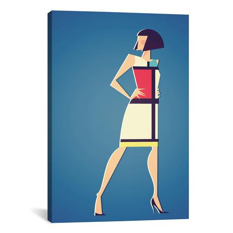 "Mondrian x YSL // Stanley Chow (12""W x 18""H x 0.75""D)"