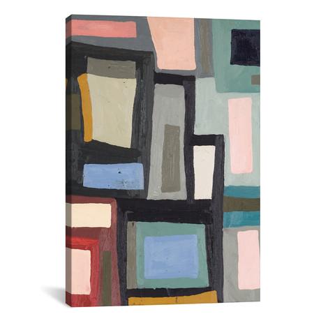 "Color Blocking III // Erin McGee Ferrell (12""W x 18""H x 0.75""D)"
