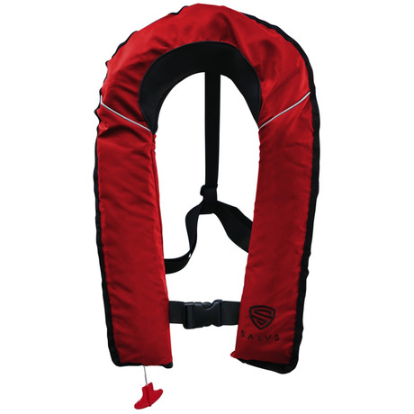 SALVS Automatic // Manual Life Jacket // Red