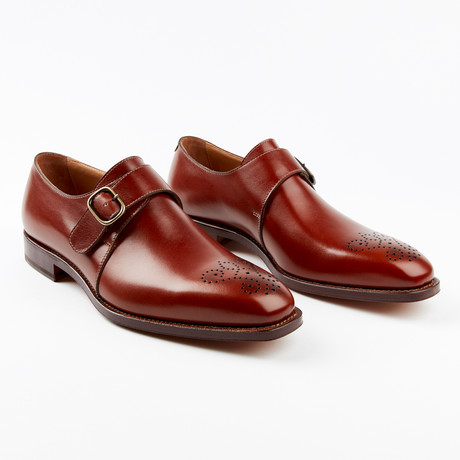 Meda Dress Shoe // Cognac (US: 7)