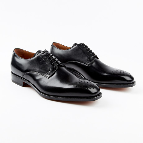 Lucca Dress Shoe // Black (US: 7)