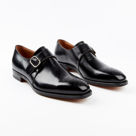 Meda Dress Shoe // Black (US: 7)