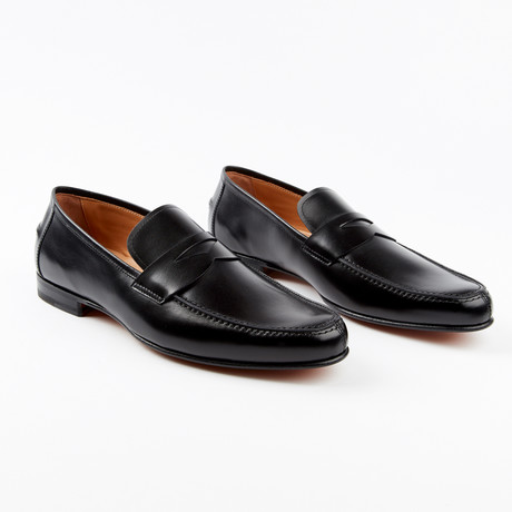 Bari Dress Shoe // Black (US: 7)