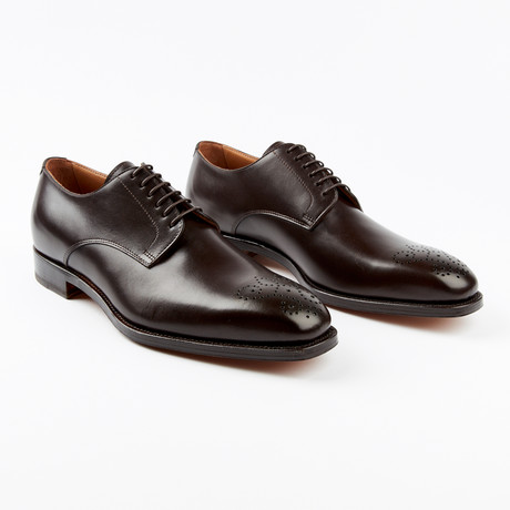 Lucca Dress Shoe // Dark Brown (US: 7)