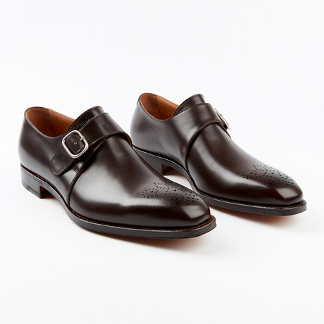 Meda Dress Shoe // Dark Brown (US: 7)