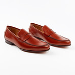 Bari Dress Shoe // Cognac (US: 9.5)