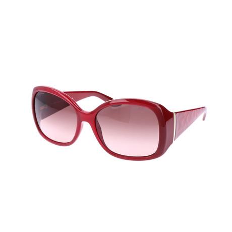 Women's SF722S Sunglasses // Red