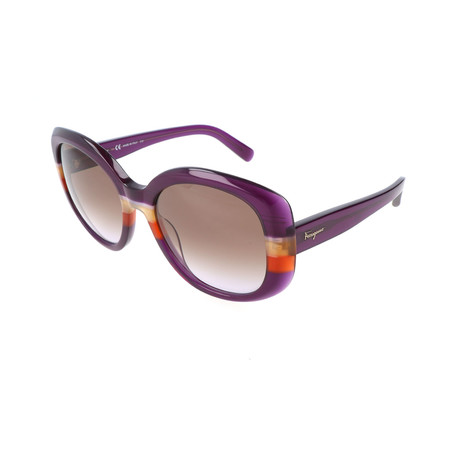 Women's SF793S Sunglasses // Violet + Orange