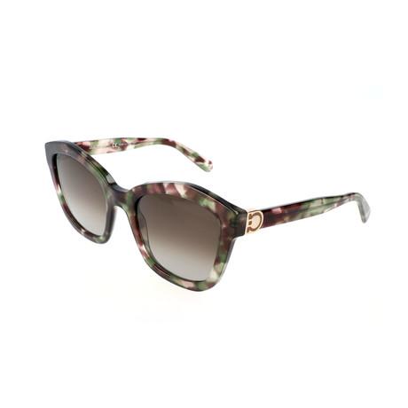 Women's SF861S Sunglasses // Military Havana