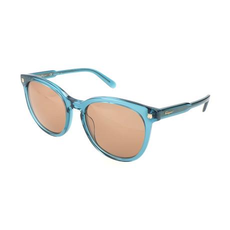 Women's SF816S Sunglasses // Blue Petrol