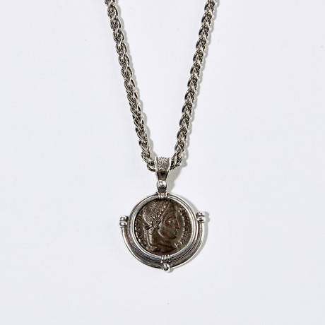 Roman Constantine the Great Coin Necklace // circa 324 AD