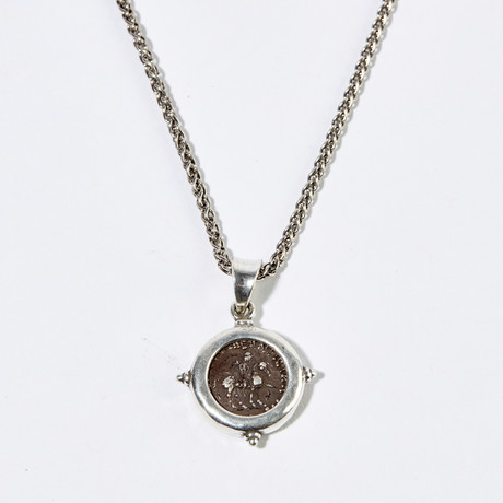 One of the Three Wise Men? // Silver Coin Necklace