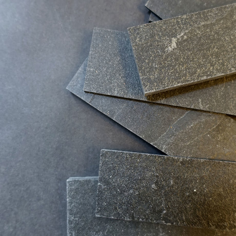 """Slate-ish Loose Pieces // Graphite 2.0 (1.5""""W)"""