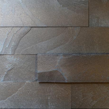 """Slate-ish Peel & Stick // Bronze (1.5""""W)"""