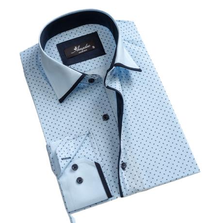 Reversible Cuff Button-Down Shirt II // Light Blue (S)