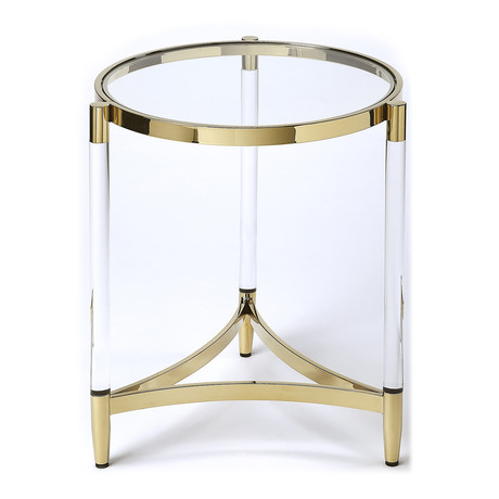 Frangelica Round End Table