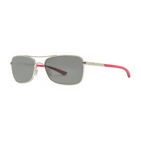 Costa Del Mar // Palapa AP83 OGGLP Polarized Sunglasses // Palladium + Red + Gray