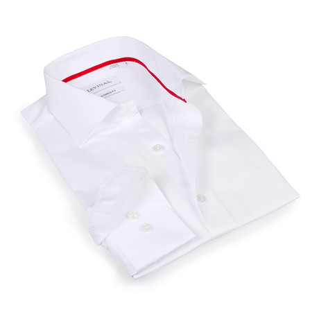 Button-Up Shirt // White (S)
