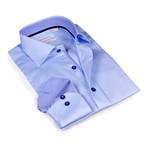 Button-Up Shirt // Light Blue (2XL)