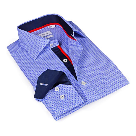 Miguel Button-Up Shirt // Blue (S)