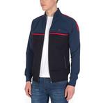 Sterling Full-Zip Sweatshirt // Navy + Indigo (2XL)