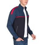 Sterling Full-Zip Sweatshirt // Navy + Indigo (S)