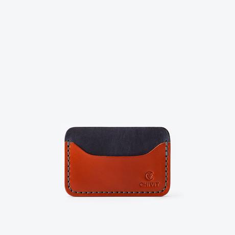 3 Slot Card Wallet // Indigo