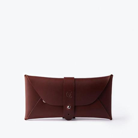 Multipurpose Envelope Case // Red Brown