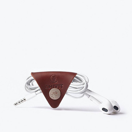 Taco Cable Organizer // Red Brown